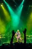 Matisyahu singing in Moscow Stock Images