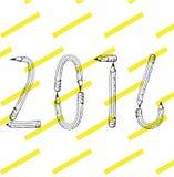 Matita 2016 Immagini Stock