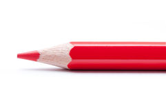 Matita rossa Fine in su Immagini Stock Libere da Diritti