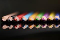 matita variopinta Tiraggio, immagine, progettazione fotografia stock libera da diritti