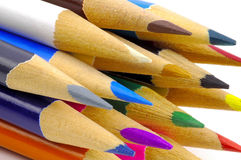Matite colorate Immagini Stock