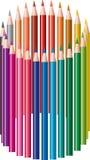 Matite colorate royalty illustrazione gratis