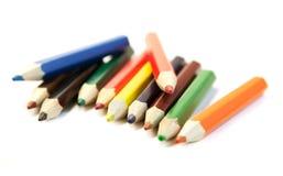 Matite colorate Fotografie Stock