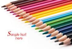 Matite colorate. Immagine Stock