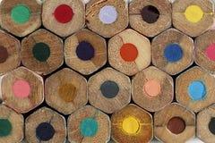 Matite colorate per disegnare Fotografia Stock Libera da Diritti