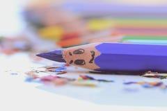 Matite Colourful Fotografia Stock Libera da Diritti
