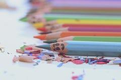 Matite Colourful Fotografie Stock Libere da Diritti