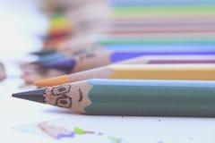 Matite Colourful Fotografia Stock