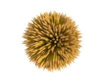 Matite - 3D - giallo Fotografie Stock Libere da Diritti