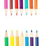 Matite del pastello di coloritura Fotografia Stock