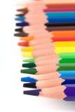 Matite di colore Fotografie Stock