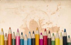 Matite di colore fotografie stock libere da diritti