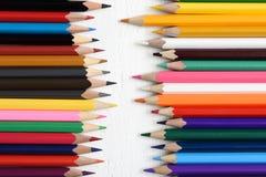 Matite di colore immagine stock libera da diritti
