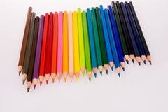 Matite di colore immagini stock