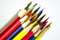 Matite di colore, fine su Fotografie Stock Libere da Diritti