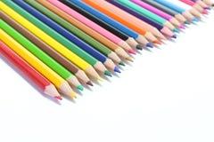 Matite di colori Fotografia Stock Libera da Diritti