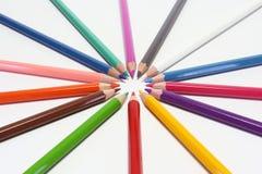 Matite di colori Fotografie Stock