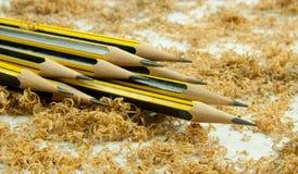 Matite di legno Fotografia Stock Libera da Diritti