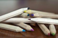 Matite multicolori Fotografie Stock Libere da Diritti