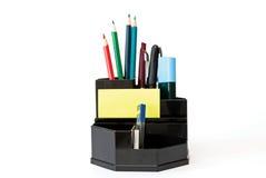 Matite, penne, indicatori ed altre cose Immagine Stock
