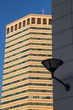 ` Matitone `铅笔大厦是Skidmore、Owings、梅里尔、Lanata和墨西拿设计的摩天大楼,意大利 库存照片