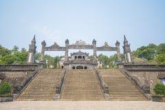 Matiz, Vietname o 14 de março:: Túmulo de Kinh Dinh o 14 de março de 2015 Vietna Fotos de Stock