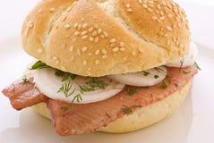 matjessmörgås Royaltyfria Foton