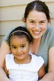 matka córkę Fotografia Stock