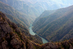 Matka canyon, Macedonia Stock Images