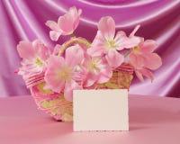 Matka dnia Karciany lub Wielkanocny wizerunek - Akcyjna fotografia Fotografia Stock