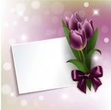 Matka dnia karta Zdjęcia Royalty Free