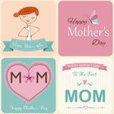 Matka dnia karta Zdjęcie Stock