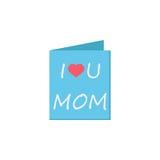 Matka dnia kartka z pozdrowieniami ikona Fotografia Stock