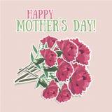 Matka dnia kwiat Obrazy Stock