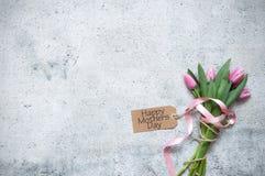 Matka dnia prezenta kwiaty zdjęcia royalty free
