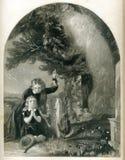 Matka ducha Doniosła Antykwarska ilustracja royalty ilustracja