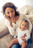 matka dziecka Zdjęcia Royalty Free