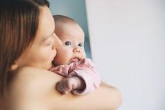 matka dziecka portret Zdjęcia Stock