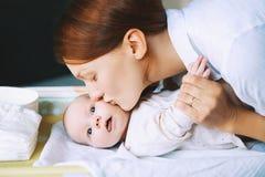 matka dziecka portret Obraz Royalty Free