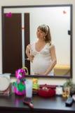 matka expectant obraz stock