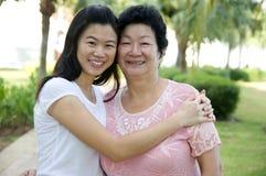 Matka i córka Fotografia Royalty Free