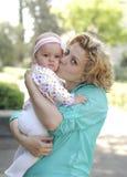 Matka i córka fotografia stock