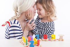 Matka i córka Zdjęcie Stock