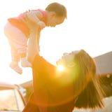 Matka i córka. zdjęcie royalty free