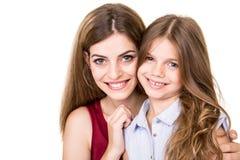 Matka i córka Obrazy Stock