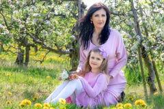 Matka i c?rka fotografia royalty free
