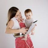 Matka i dziecko Zdjęcie Stock