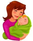 Matka i dziecko ilustracja wektor