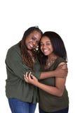Matka i jej nastoletnia córka Obrazy Stock