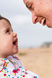 Matka i niemowlak fotografia stock